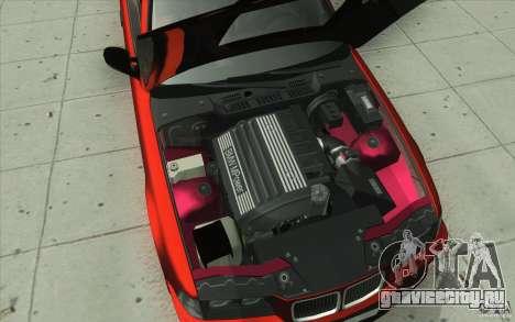BMW Fan Drift Bolidas для GTA San Andreas вид снизу