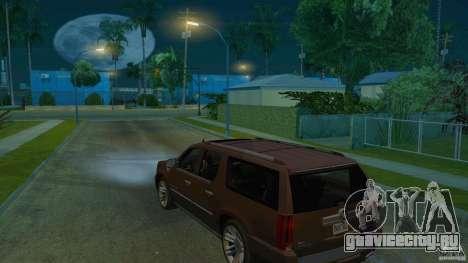 Cadillac Escalade ESV 2012 для GTA San Andreas вид слева