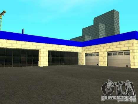 Автосалон ВАЗ в Сан-Фиерро для GTA San Andreas пятый скриншот