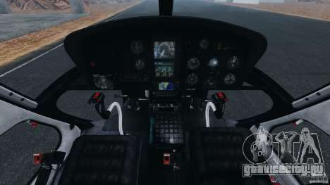 Eurocopter AS350 Ecureuil (Squirrel) для GTA 4 вид сзади