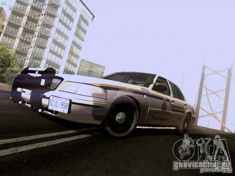 Ford Crown Victoria Canadian Mounted Police для GTA San Andreas