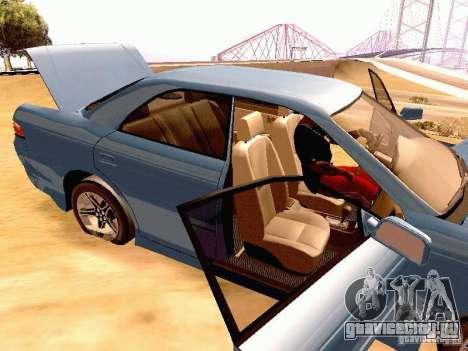 Toyota Mark II JZX90 для GTA San Andreas вид сзади