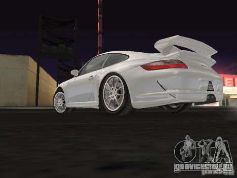 Porsche 911 GT3 для GTA San Andreas вид сзади