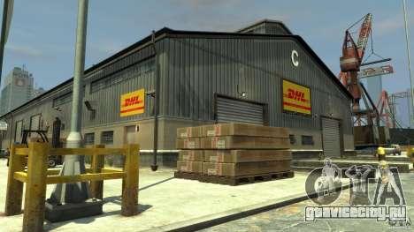DHL-Port для GTA 4 третий скриншот