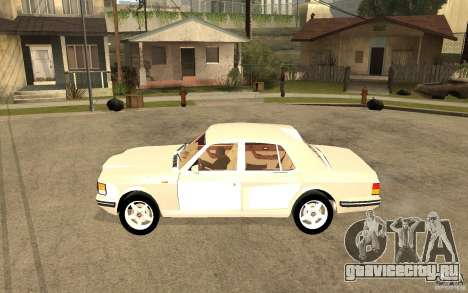Bentley Turbo RT для GTA San Andreas вид слева