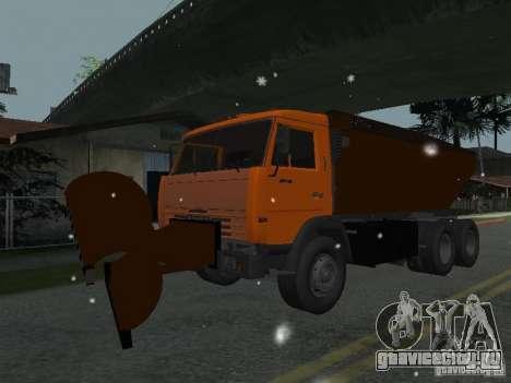 КамАЗ 53215 для GTA San Andreas вид сзади слева