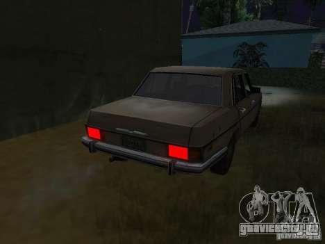 Mercedes-Benz из Call of Duty 4 для GTA San Andreas вид сзади слева