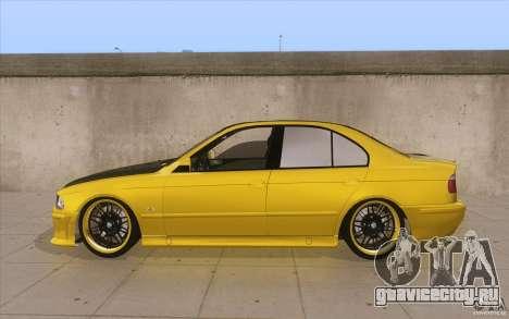 BMW M5 E39 - FnF4 для GTA San Andreas вид слева