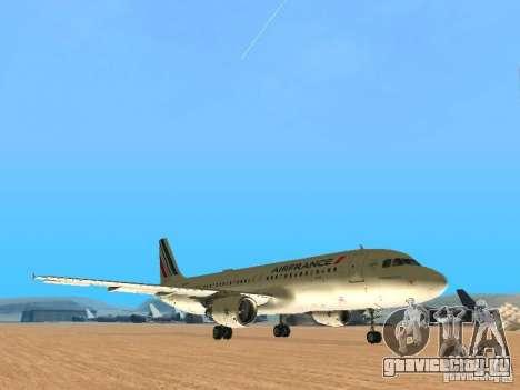 Airbus A320 Air France для GTA San Andreas вид слева