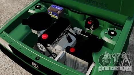 Volkswagen Gol GL 1992 Edit для GTA 4 вид изнутри