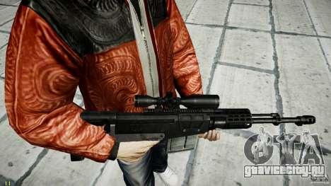 Accuracy International AS50 для GTA 4 шестой скриншот