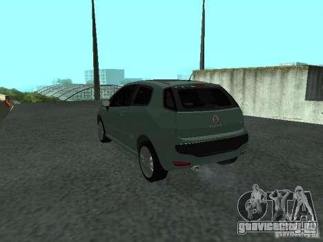 Fiat Punto EVO SPORT 2010 для GTA San Andreas вид слева