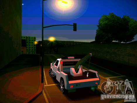 Towtruck tuned для GTA San Andreas вид сбоку