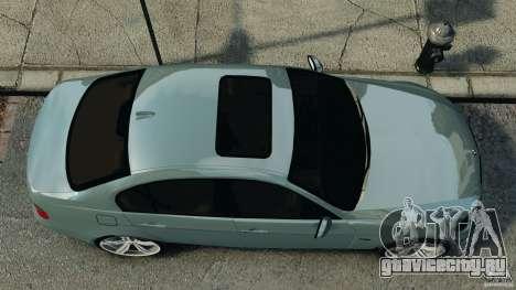 BMW 330i E92 для GTA 4 вид справа