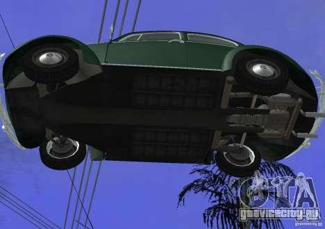 Volkswagen Beetle 1963 для GTA San Andreas вид сбоку