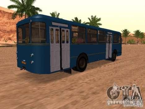 ЛиАЗ 677 для GTA San Andreas колёса