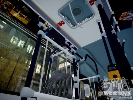 Scania K230 MTA New York City Bus для GTA 4 вид сзади