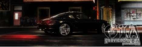 Porsche Cayman для GTA 4 вид сзади