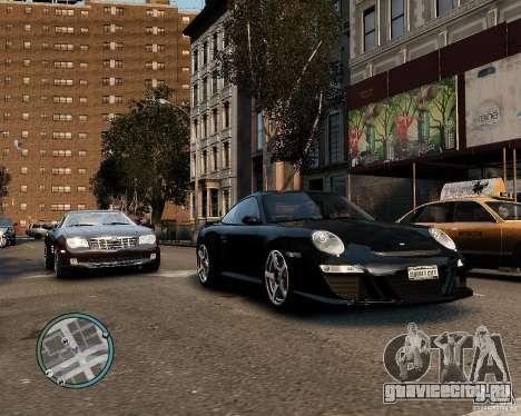 Ruf Rt 12 для GTA 4 вид сзади слева