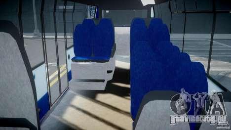 DAF Berkhof City Bus Amsterdam для GTA 4 вид справа