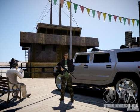 CoD Black Ops Hudson для GTA 4 четвёртый скриншот