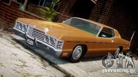 Mercury Monterey 2DR 1972 для GTA 4 вид снизу