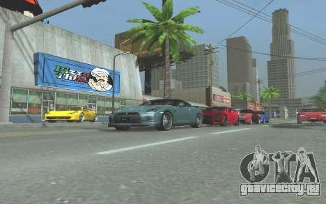 ENB v3.0 by Tinrion для GTA San Andreas седьмой скриншот