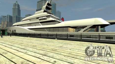 Yacht v1 для GTA 4 вид справа