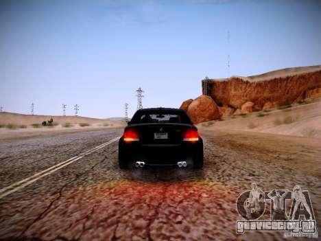 BMW 1M v2 для GTA San Andreas вид сбоку