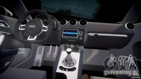 Audi TT RS Coupe v1 для GTA 4 вид справа