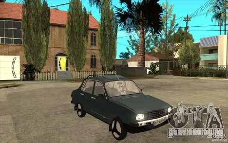 Dacia 1300 Cocalaro Tzaraneasca для GTA San Andreas вид сзади