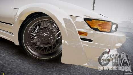 Nissan Sileighty для GTA 4 вид изнутри