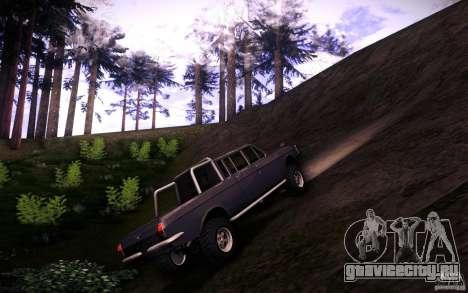ГАЗ 2402 4x4 PickUp для GTA San Andreas вид изнутри
