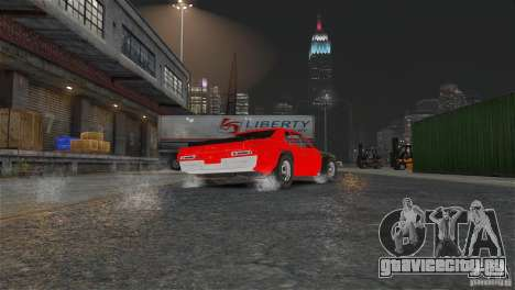 Jupiter Eagleray MK5 v.1 для GTA 4 вид изнутри