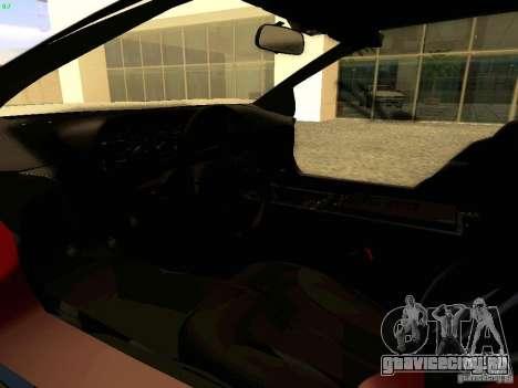 DeLorean DMC-12 V8 для GTA San Andreas вид сзади