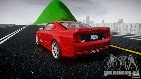 Saleen S281 Extreme - v1.2 для GTA 4 вид сзади слева