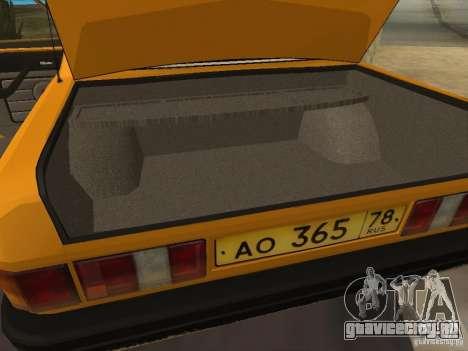 ГАЗ 31029 Такси для GTA San Andreas вид сбоку