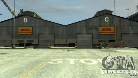 DHL-Port для GTA 4 четвёртый скриншот