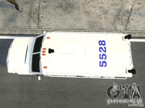 Lenco Bearcat NYPD ESU V.2 для GTA 4 вид сзади