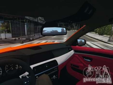 BMW M5 F10 2012 Aige-edit для GTA 4 вид справа