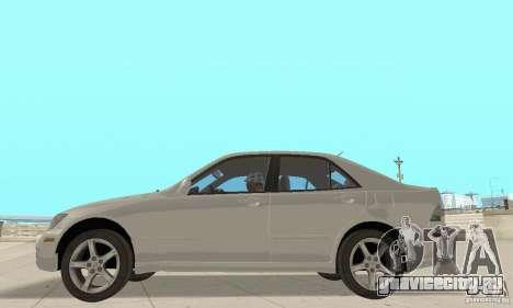 Lexus IS300 Stock для GTA San Andreas вид справа