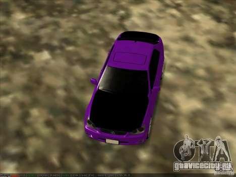 Lexus IS300 - Stock для GTA San Andreas вид справа