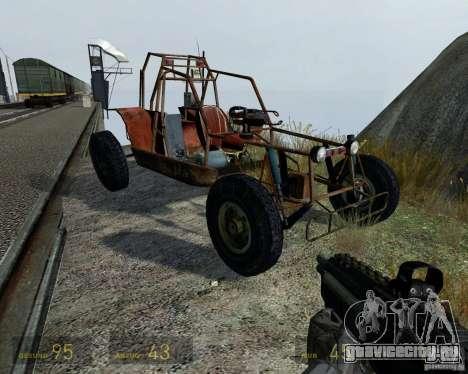 Half Life 2 buggy для GTA 4 вид сбоку