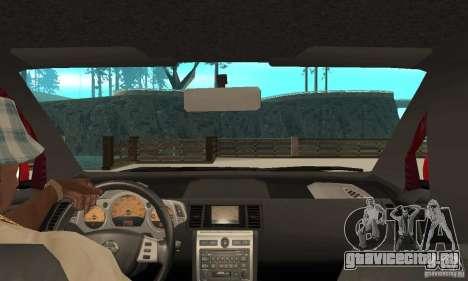 Nissan Murano 2004 для GTA San Andreas вид справа