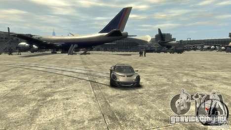 Lotus Elise v2.0 для GTA 4 вид изнутри