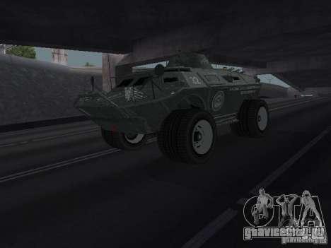 APC из GTA TBoGT IVF для GTA San Andreas