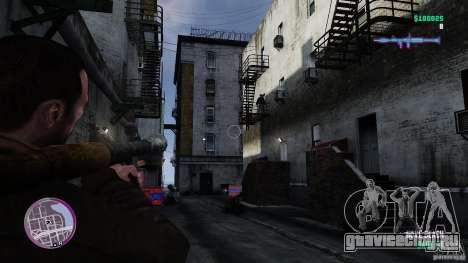 VC Style Radar/HUD (скин 3) для GTA 4 четвёртый скриншот