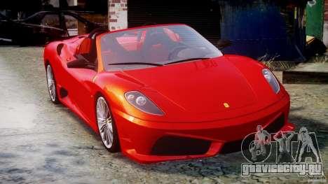 Ferrari F430 Scuderia Spider для GTA 4 вид изнутри