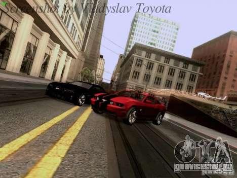 Ford Mustang GT 2011 для GTA San Andreas вид сбоку