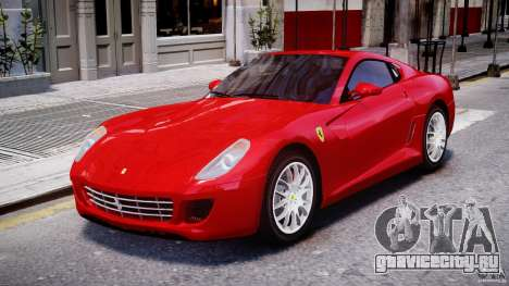 Ferrari 599 GTB Fiorano для GTA 4 вид слева